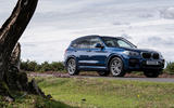 BMW X3 xDrive30e 2020 UK first drive review - static front