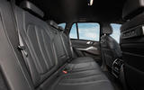 BMW X5 xDrive 45e 2019 UK first drive review - rear seats