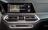 BMW X5 xDrive 45e 2019 first drive review - infotainment