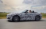 BMW Z4 prototype drive 2018 track side