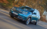 Citroen C5 Aircross 2019 UK first drive review - on the road front