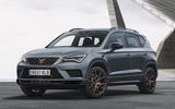 Cupra Ateca 2018 prototype first drive review static front