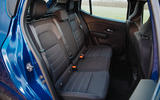 11 Dacia Sandero BiFuel 2021 UK first drive rear seats