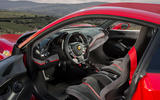 Ferrari 488 Pista 2018 review cabin