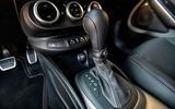 Fiat 500x Sport 2019 first drive review - gearstick