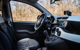 Fiat Panda Cross Hybrid 2020 first drive review - cabin