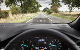 Ford Focus ST-Line 182PS 2018 UK first drive review - HUD