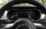 Ford Mustang GT 5.0 2018 UK review digital rev counter