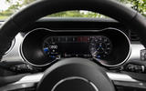 Ford Mustang GT 5.0 2018 UK review digital rev counter