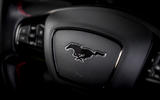 11 Ford Mustang Mach E 2021 UK first drive review steering wheel
