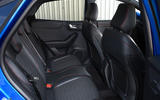 Ford Puma ST Line X 2020 UK first drive review - rear seats
