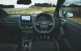 11 Ford Puma ST Mountune m260 2021 UK FD dashboard