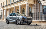 Ford Puma Vignale 2020 UK first drive review - static front