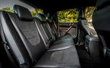 Ford Ranger Raptor 2019 first drive review - rear seats