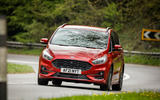 11 Ford S Max Hybrid 2021 UK FD cornering