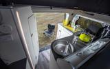 11 Ford Transit Nugget 2021 UK FD kitchen