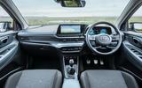11 Hyundai Bayon 2021 UK FD dashboard