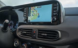 Hyundai i10 2020 first drive review - infotainment