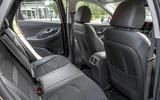Hyundai i30 2020 UK first drive review - rear seats