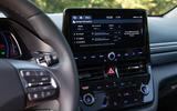 Hyundai Ioniq Electric 2019 first drive review - infotainment