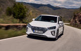 Hyundai Ioniq plug-in hybrid 2019 first drive review - on the road front