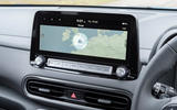 11 Hyundai Kona Electric 2021 UK first drive review infotainment