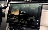 11 Jaguar F Pace P400e 2021 uk first drive review infotainment
