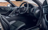 Jaguar F-Type 2020 UK first drive review - dashboard