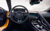 Jaguar F-Type Coupé 2020 first drive review - dashboard