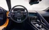 Jaguar F-Type Coupé 2020 first drive review - dashboard