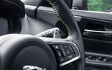 Jaguar XE 300 Sport 2018 UK first drive review steering wheel
