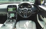 Jaguar XE P300 2019 UK first drive review - dashboard