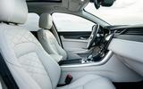 11 Jaguar XF Sportbrake 2021 UK first drive review cabin
