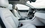 11 Jaguar XF Sportbrake P250 2021 UK review cabin