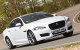 Jaguar XJ - tracking front