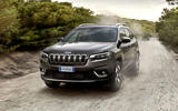 Jeep Cherokee Limited 2018 first drive review on the road front