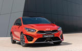 11 Kia Ceed GT Line 2021 facelift first drive static front