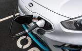 11 Kia e Niro 39kWh 2021 UK first drive review charging port