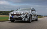 Kia Proceed GT 2018 prototype drive on the road