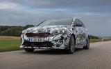Kia Proceed GT 2018 prototype drive on the road