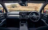 11 Kia Sorento PHEV 2021 UK first drive review dashboard