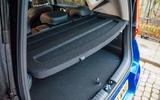 Kia Soul EV 2020 UK first drive review - boot shelf