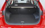 Kia Sportage 1.6 GDI '2' 2018 UK first drive boot space