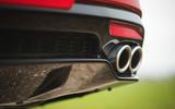 11 Kia Stinger GT S 2021 UK review exhausts