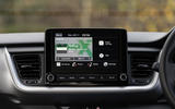 11 Kia Stonic 48v 2021 UK first drive review infotainment