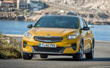Kia Xceed 2019 first drive review - cornering front