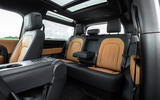 Land Rover Defender 90 P400 X 2020 UK first drive review - rear seats