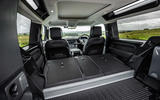 11 Land Rover Defender 90 D250 2021 UK first drive review boot