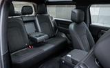 11 Land Rover Defender V8 2021 UK FD rear seats