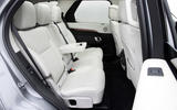 11 Land Rover Discovery D300 2021 UK first drive review rear seats